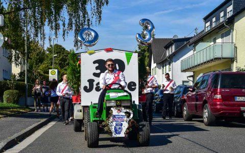 Jubiläumsumzug der Medenbacher Kerb. ©2018 Volker Watschounek