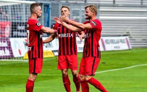 Fußball 3. Liga | Saison 2018.2019 | 7. Spieltag | SV Wehen Wiesbaden - SV Meppen | 3:0