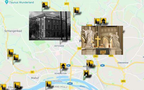 Tag des offenen Denkmals, 22 Wiesbadener Denkmäler laden ein. ©2018 Fotomontage / Tag des offenen Denkmals / Volker Watschounek