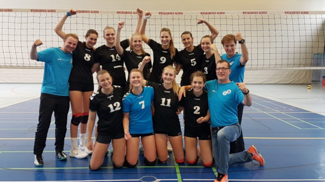 Samstag in der 2. Volleyball Bundesliag, Sonntag im HVV-Hessenpokal. Der VCW II. ©2018 Gregor Koch