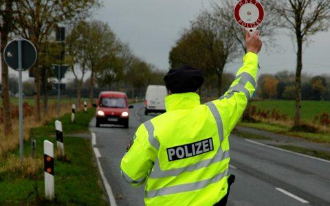 """Verkehrssicherheitsaktion """"sicher.mobil.leben"""" ©2018 Polizei Wilhelmshafen / Schäfer"""