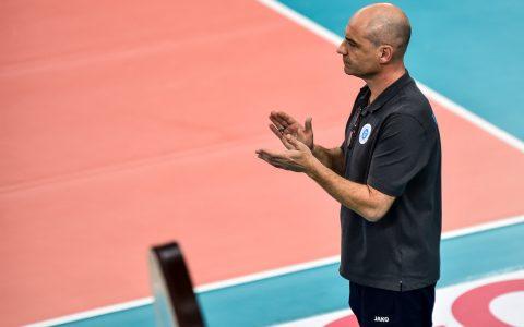 VCW Coach Dirk Groß ist im Großen udn Ganzem zufrieden mit den ersten Spielen. ©2018 Volker Watschounek