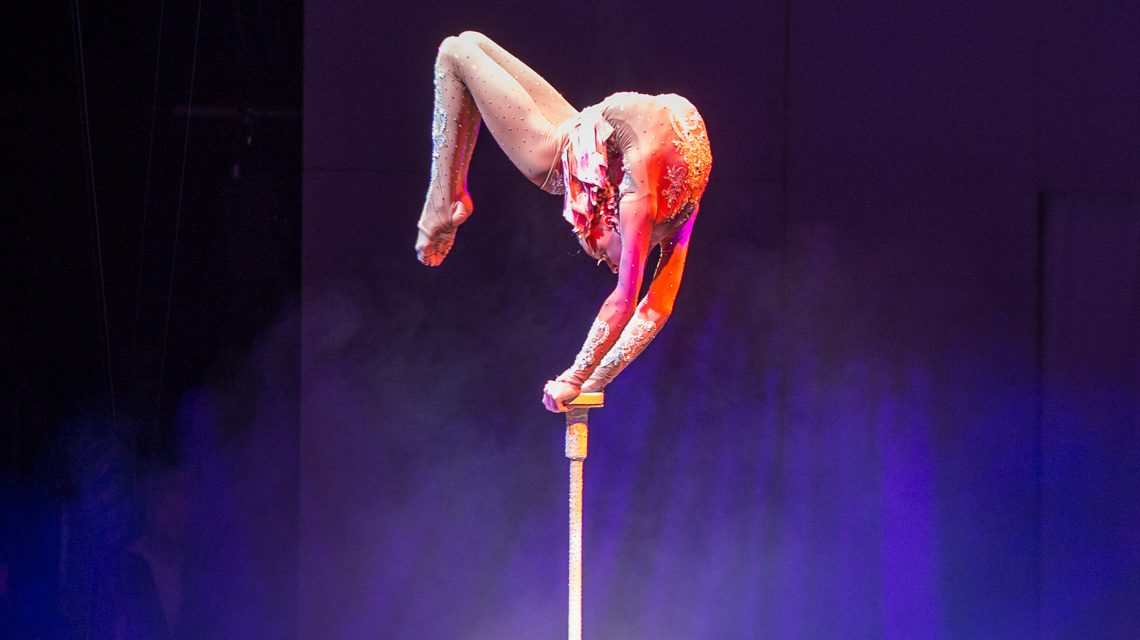 European Youth Circus: Amely Bilyk erobert die Herzen der Zuschauer