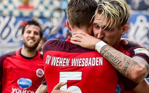 Saison 2018/2019 |12. Spieltag | Karlsruher SC - SV Wehen Wiesbaden / 2:5