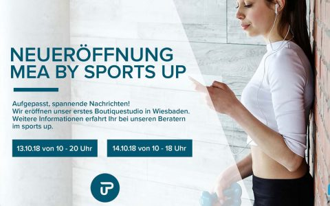 Das mea – my fitness home lädt ... ©2018 Sports up