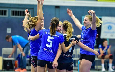 VCW II |Volleyball 2. Bundesliga Süd Frauen | Saison 2018.2019 | 1. Spieltag | VC Wiesbaden II - TV Holz | 1:3