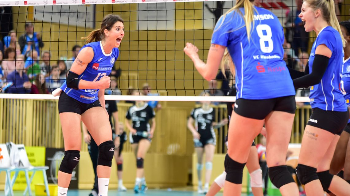 DVV-Pokal: Der VCW steht im Viertelfinale