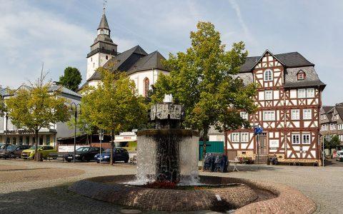 Haiger am Marktplatz ©2018 Otto Domes / Wikipedia / CC BY-SA 4.0