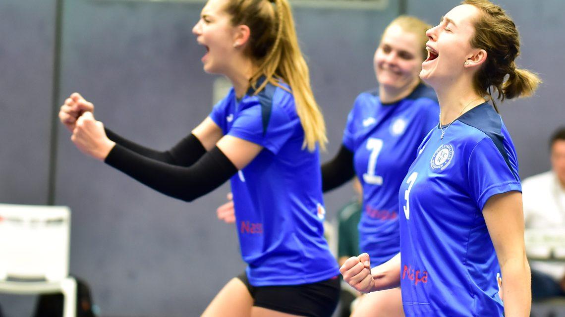 VCW II gewinnt drittes Spiel in der 2. Volleyball Bundesliga