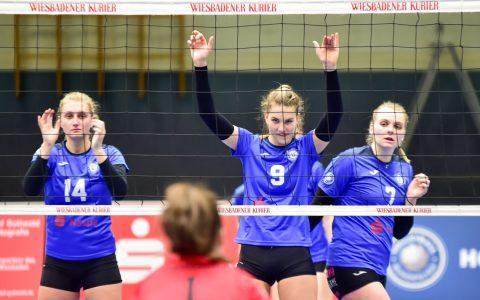 Volleyball 2. Bundesliga Süd Damen | 2018.2019 | 8. Spieltag | VC Wiesbaden II - TSV 1860 Ansbach | 3:0