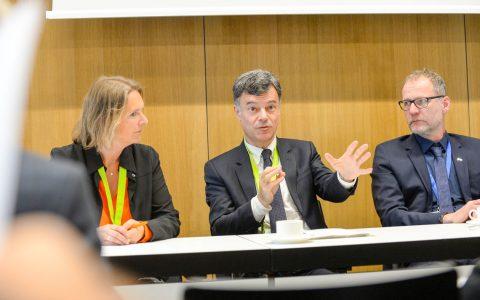PK mit Prof. Richter und Prof. Maio. Foto: Paul Müller / DWG