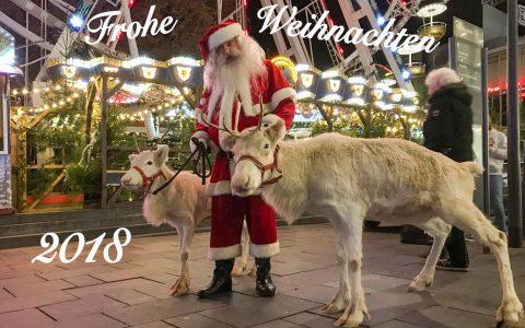 Wiesbaden lebt! wünscht allen fröhliche Weihnachten, besinnliche Tage und einen guten Rutsch ins neue Jahr. ©2018 Volker Watschounek.