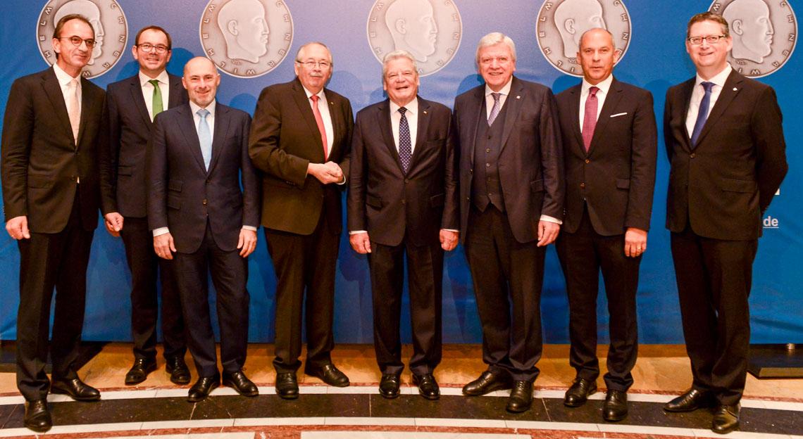 Gäste und Ehrengäste bei der Verleihung der Wilhelm Leuschner-Medaille im Kurhaus Wiesbaden. ©2018 Sabrina Feige / Staatskanzlei