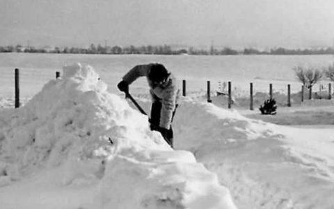 Wintereinbruch an der Wetterwarte Neubrandenburg © Roland Schädlich/Deutscher Wetterdienst