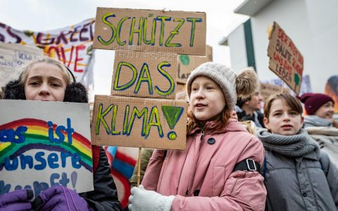 Fridays for Future am 25. Januar 2018 in Berlin | ©2019 Flickr | Jörg Farys | Fridays for Future