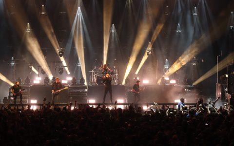 Parkway Drive Konzert in der Jahrhunderthalle Höchst