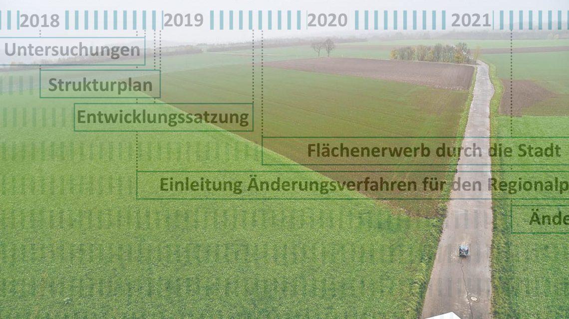 Wiesbaden plant einen. eben Stadtteil. Asien Arbeitstitel ist Ostfeld. ©2019 Volker Watschounek / SEG