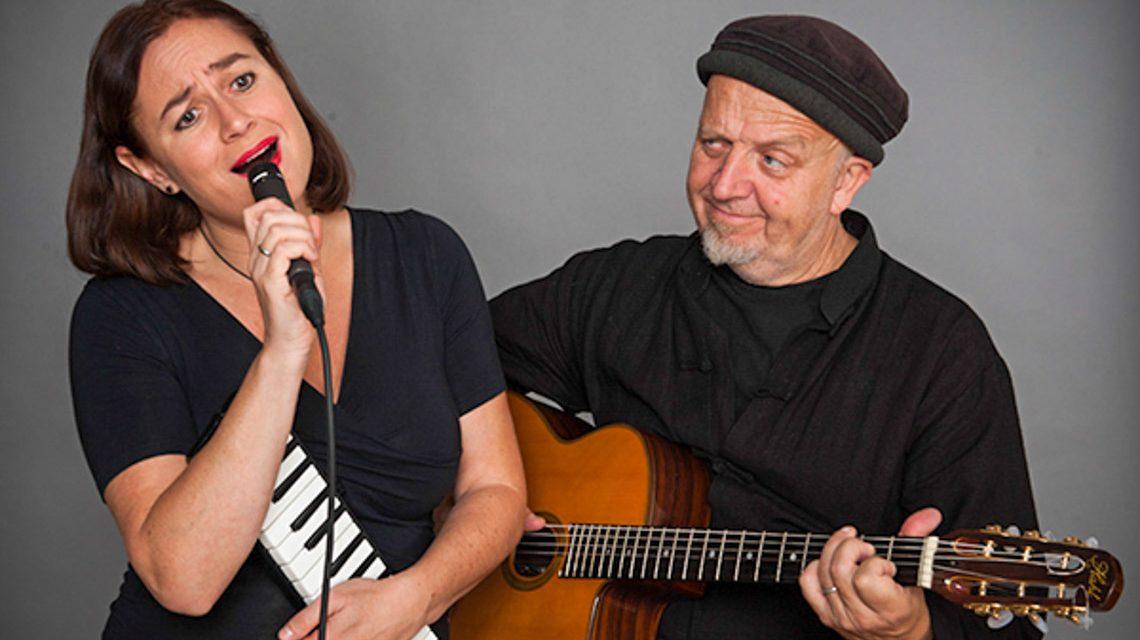 Chansons, Rock und Pop mit Sabine Fischmann und Ali Neander.