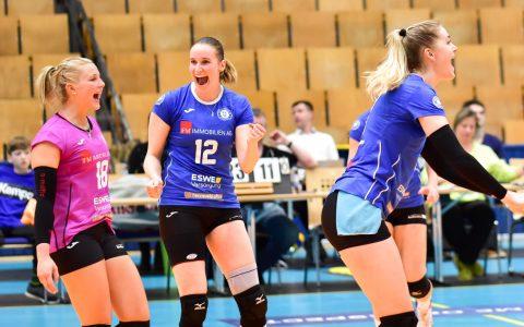 Volleyball Bundesliga Damen | 2018.2019 | 12. Spieltag |SC Potsdam - VC Wiesbaden | 2:3