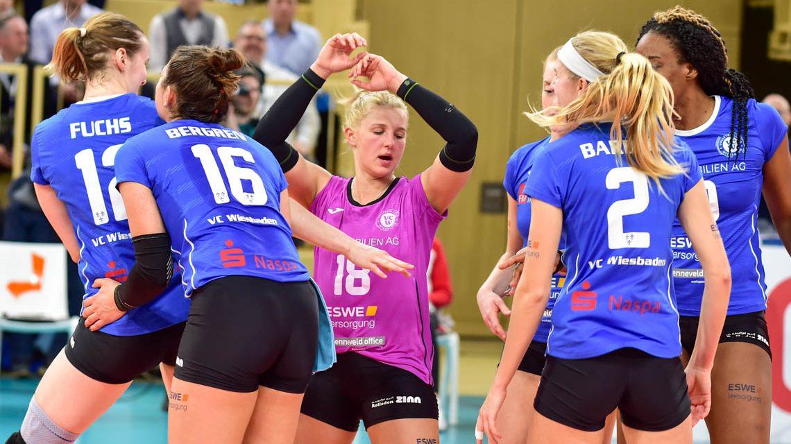 Volleyballbundesliga: Schwerin schlägt Wiesbaden 3:0
