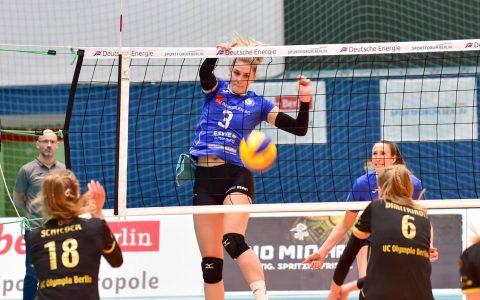 Volleyball Bundesliga Damen | 2018.2019 | 12. Spieltag |VC Olympic Berlin - VC Wiesbaden | 0:3