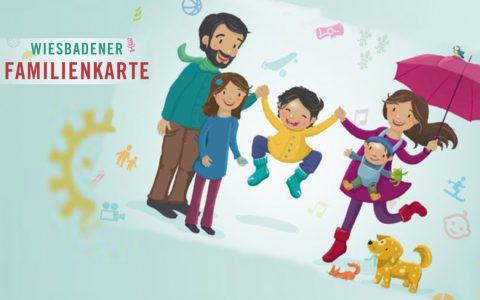 Familienkarte, Informieren, beantragen und Geld sparen. ©2019 Volker Watschounek