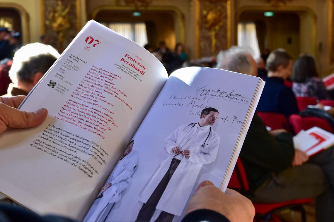 Pressekonferenz zu den Internationale Maifestspiele im Staatstheater Wiesbaden vom 30. April bis 31. Mai 2019. ©2019 Volker Watschounek