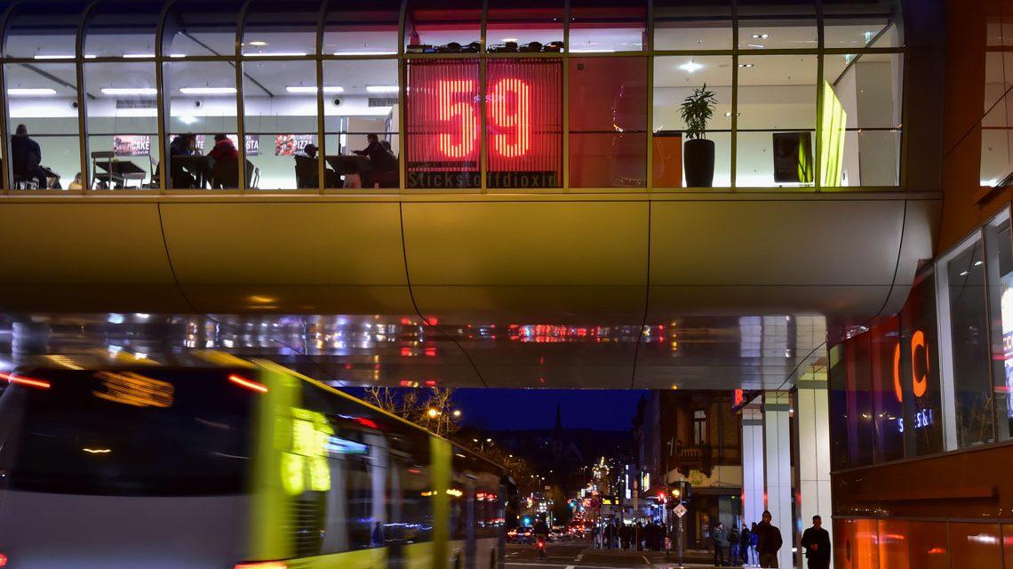Stadtluft Anzeiger Luftqualität Wird Sichtbar Wiesbaden Lebt