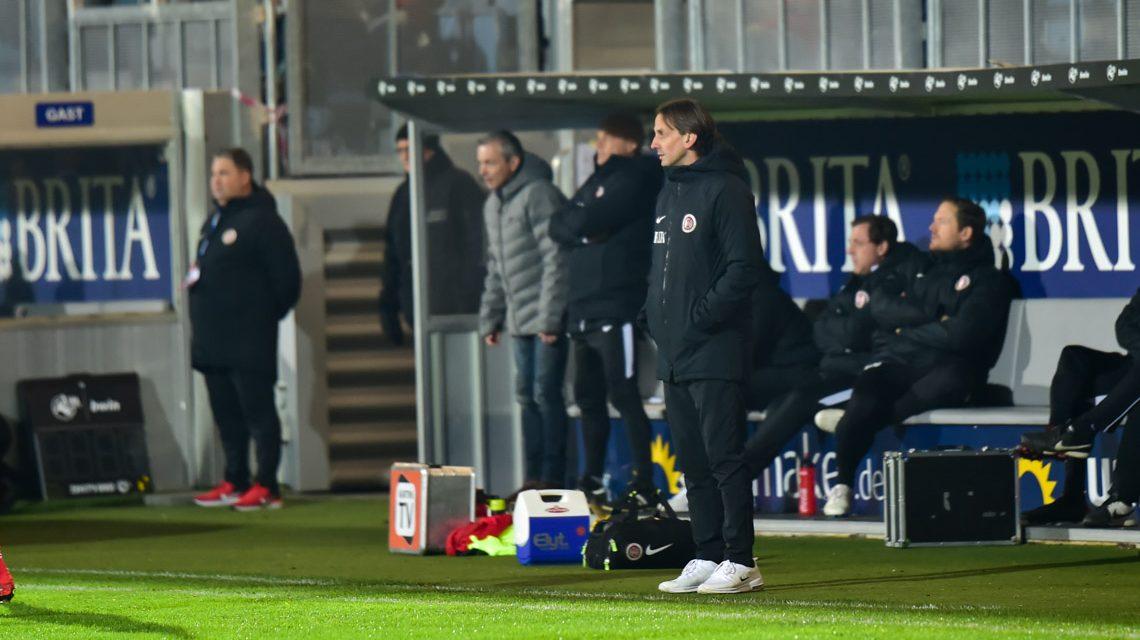 Archivbild: 3. Liga | 19. Spieltag | SV Wehen Wiesbaden - KFC Uerdingen | 0:2 ©2018 Volker Watschounek