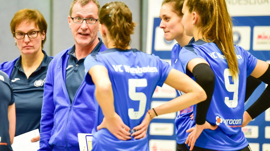 Archivbild: VCSW II - Volleyball 2. Bundesliga Süd Damen   2018.2019   8. Spieltag  
