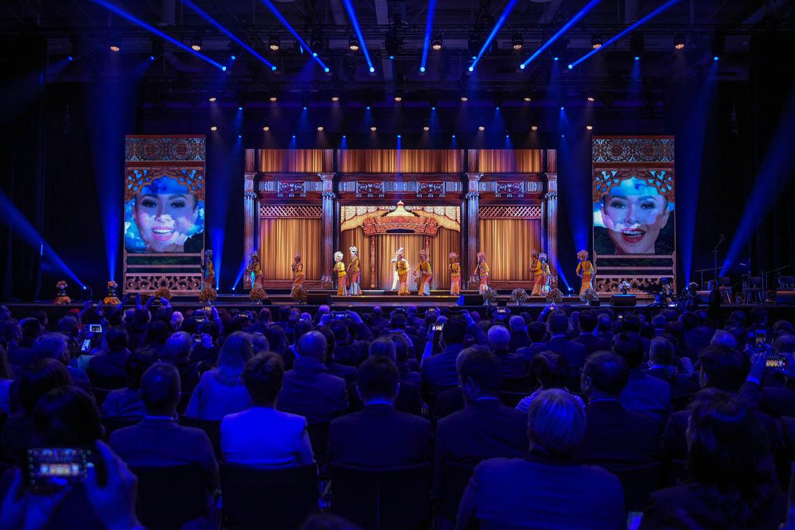 Eröffnungsfeier - Showprogramm des Partnerlandes Malaysia ©2019 Messe Berlin