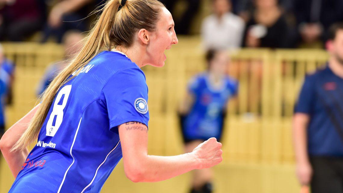 Jennifer Hamson – VC Wiesbaden - Dresdener SC | 1. Volleyball Bundesliga | 2018 / 2019 | 3:0
