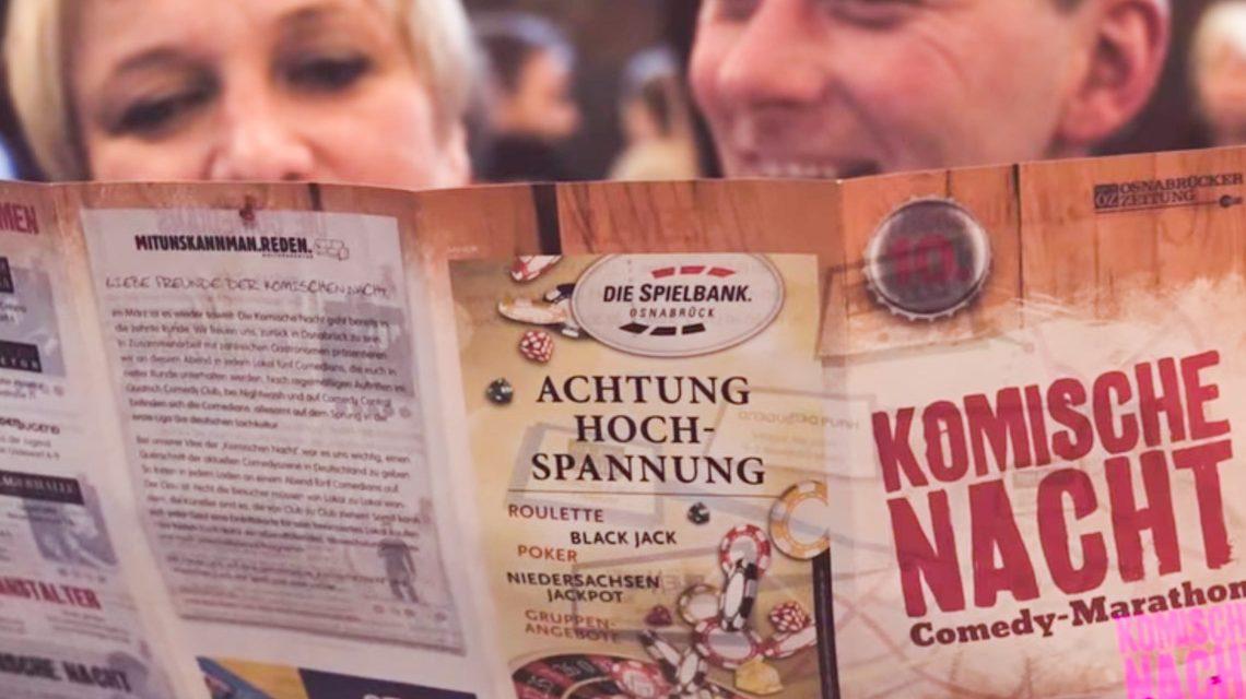 1. Komische Nacht in Wiesbaden ©2019 You tube
