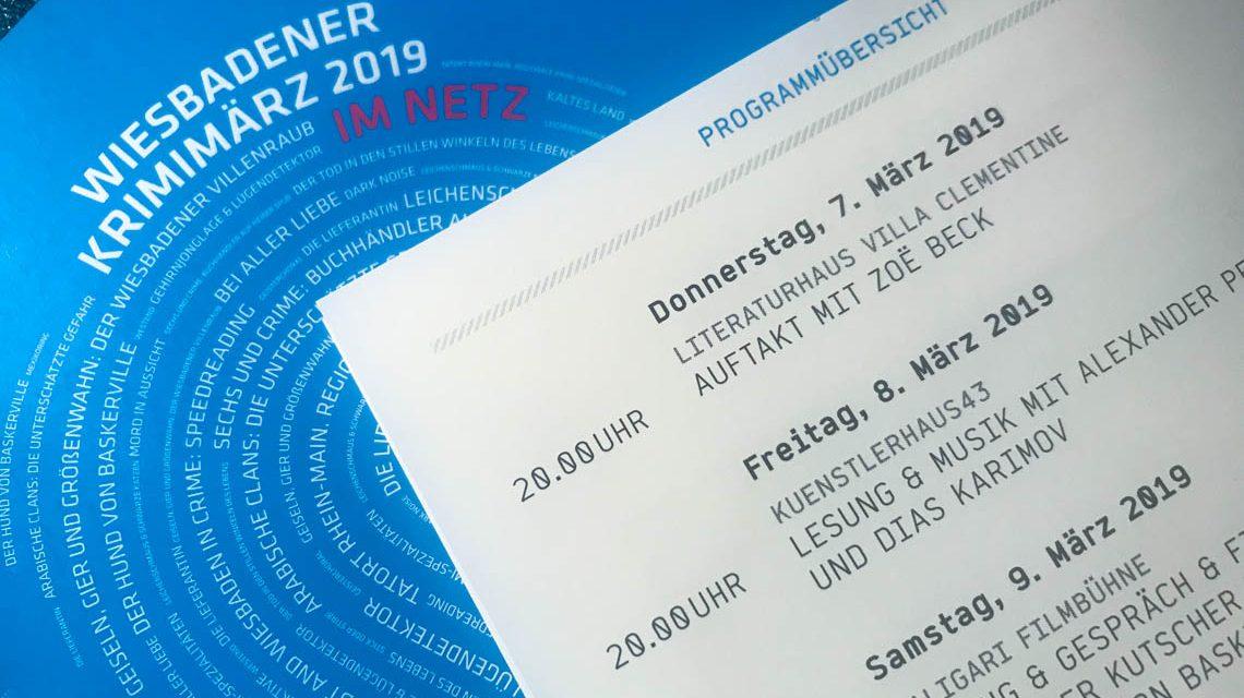 Wiesbadener KrimiMärz 2019