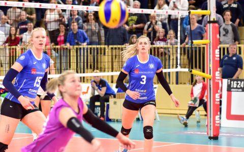 Volleyball Bundesliga Damen |nSaison 2018.2019 || 22. Spieltag | VC Wiesbaden - VfB Lotto Suhl | 3:1