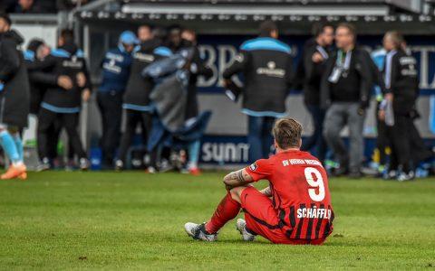 Manuel Schofler nach dem 0:2 gegen die Würzburger Kickers. War es das?