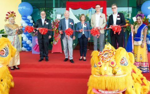 Vor wenigen Stunden eröffnete VITRONIC offiziell seine jüngste Tochtergesellschaft, die VITRONIC Machine Vision Asia Sdn Bhd, in Penang, Malaysia. ©2019 Vitronic