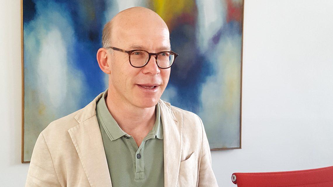 Jörg-Uwe Funk ist neuer Leiter des Kulturamts. ©2019 Stadt Wiesbaden