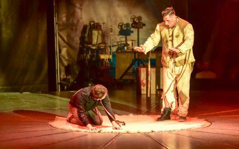 Zirkus des Horrors, ein Spektakel in Wiesbaden Biebrich. ©2019