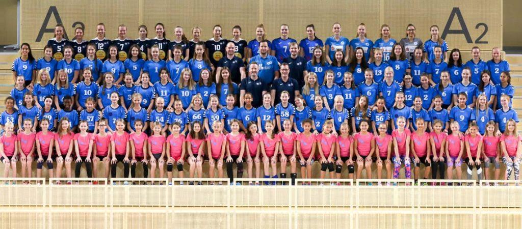 Erfolgreicher VCW-Nachwuchs: Alle Teams auf einem Bild (Foto: Detlef Gottwald)