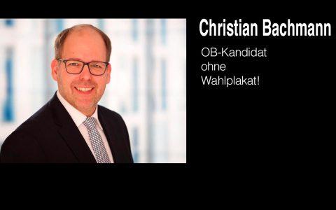 Christian Bachmann tritt für die Freien Wähler als OB-Kandidat an. ©2019 Privat, bearbeitet Wiesbaden lebt