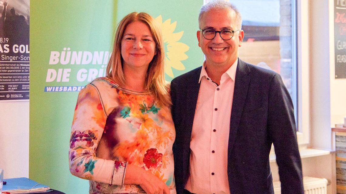 Christiane Hinninger und Tarek Al Wazir hautnah zum Anfassen – Townhall im ZR 6