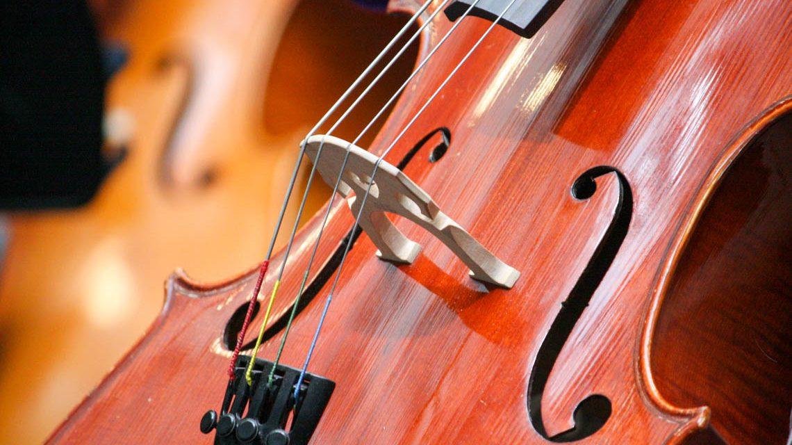 Cellissimo, ein Cello steht im Raum ©2019 WMK