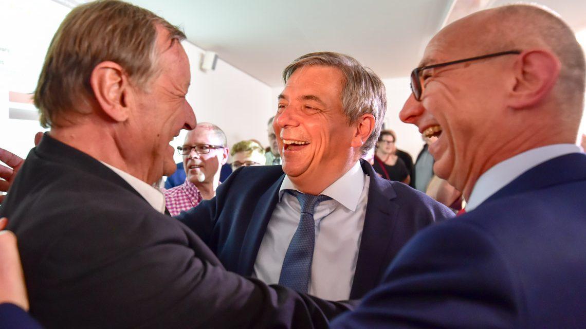Gert-Uwe Mende wird neuer Oberbürgermeister