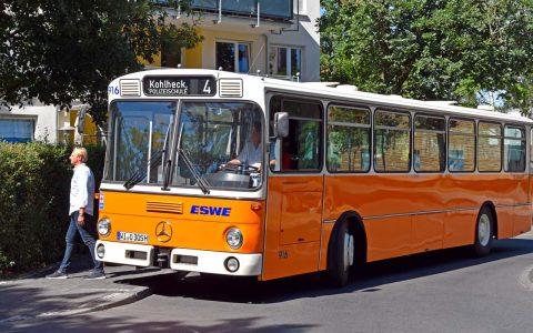 Oldtimer-Bus von ESWE Verkehr. ©2019 Mark Burggraf