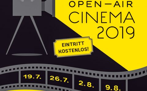 Open Air Kino in Wiesbaden Biebrich