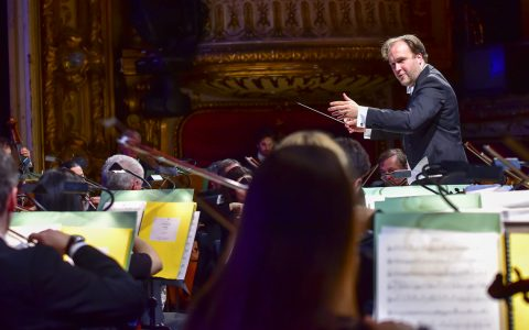 Kompositionswettbewerb – Preisträger gespielt vom hessischen Staatsorchester. ©2018 Volker Watschounek