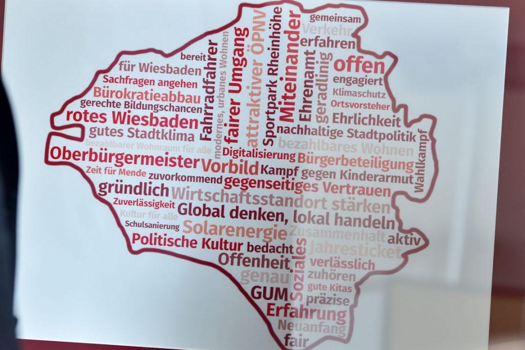 Oberbürgermeister Gert-Uwe Mende: Diese Worte hat er im Wahlkampf am häufigsten verwendet. ©2019 Volker Watschounek