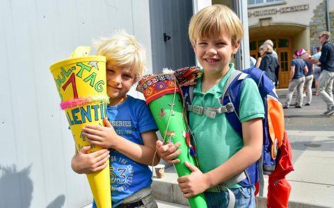 Einschulung in der Konrad Duden Grundschule