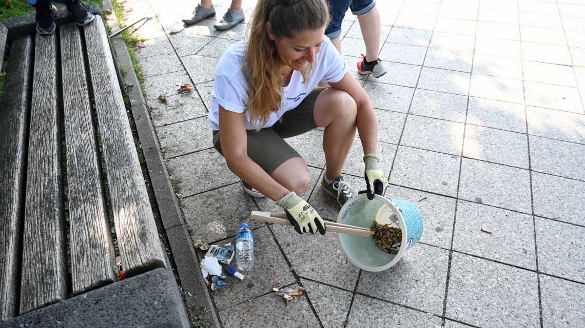 Cleanup Wiesbaden: Rheinkippen für Düsseldorf